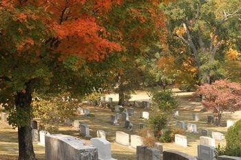 Осень на кладбище