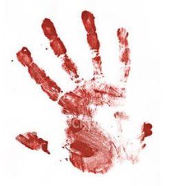 Кровь рука