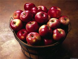 Остуда на яблоко